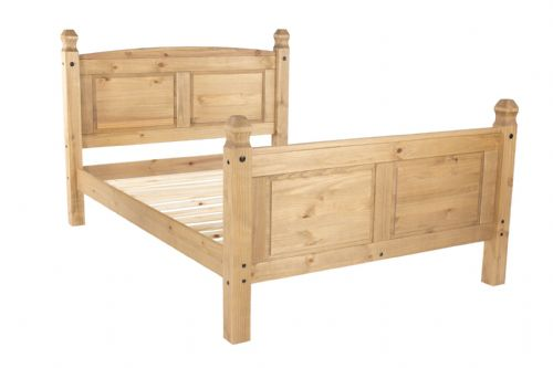 New Mexican 5' High End Bedstead